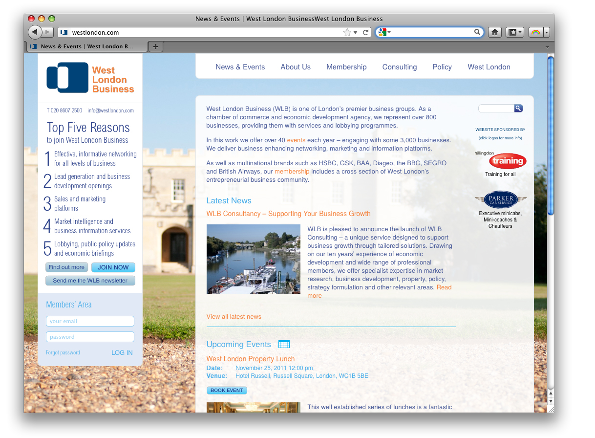 West London Business website launched