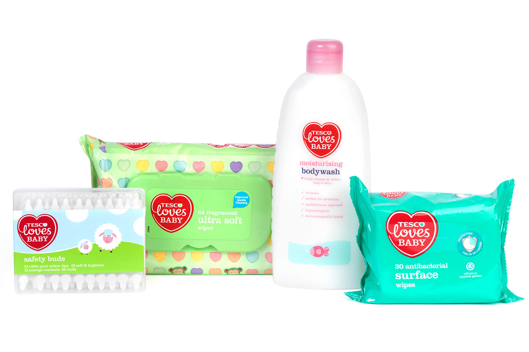 graphic design agency - client Tesco baby care