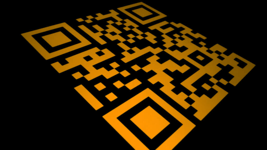 QR codes on packaging