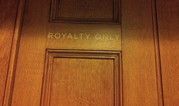 Royalty Only!