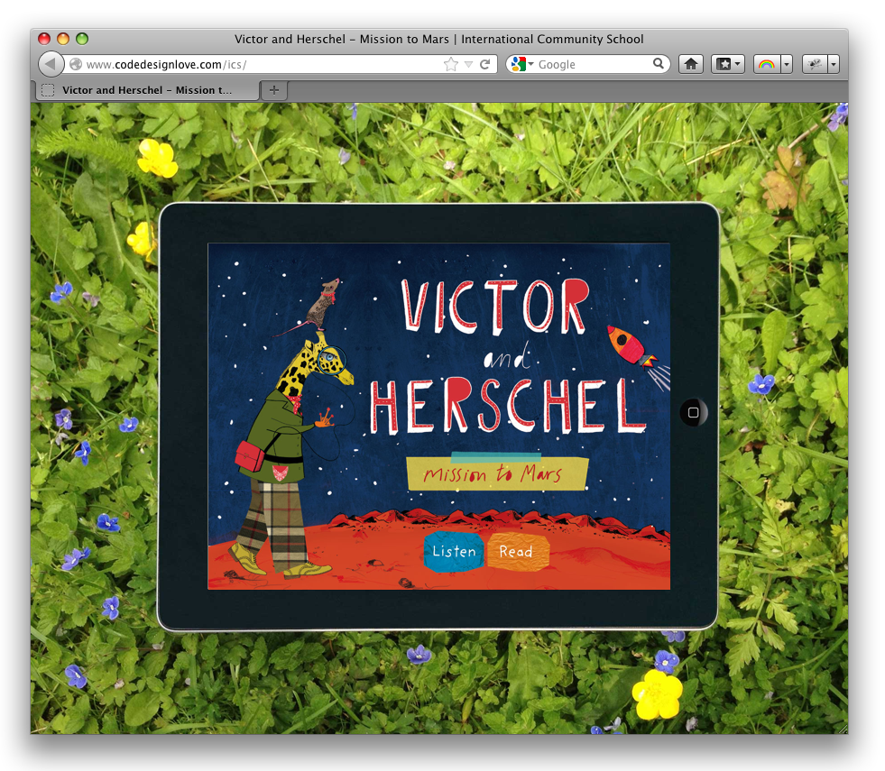 Victor & Herschel's 'Mission to Mars' beats the average textbook