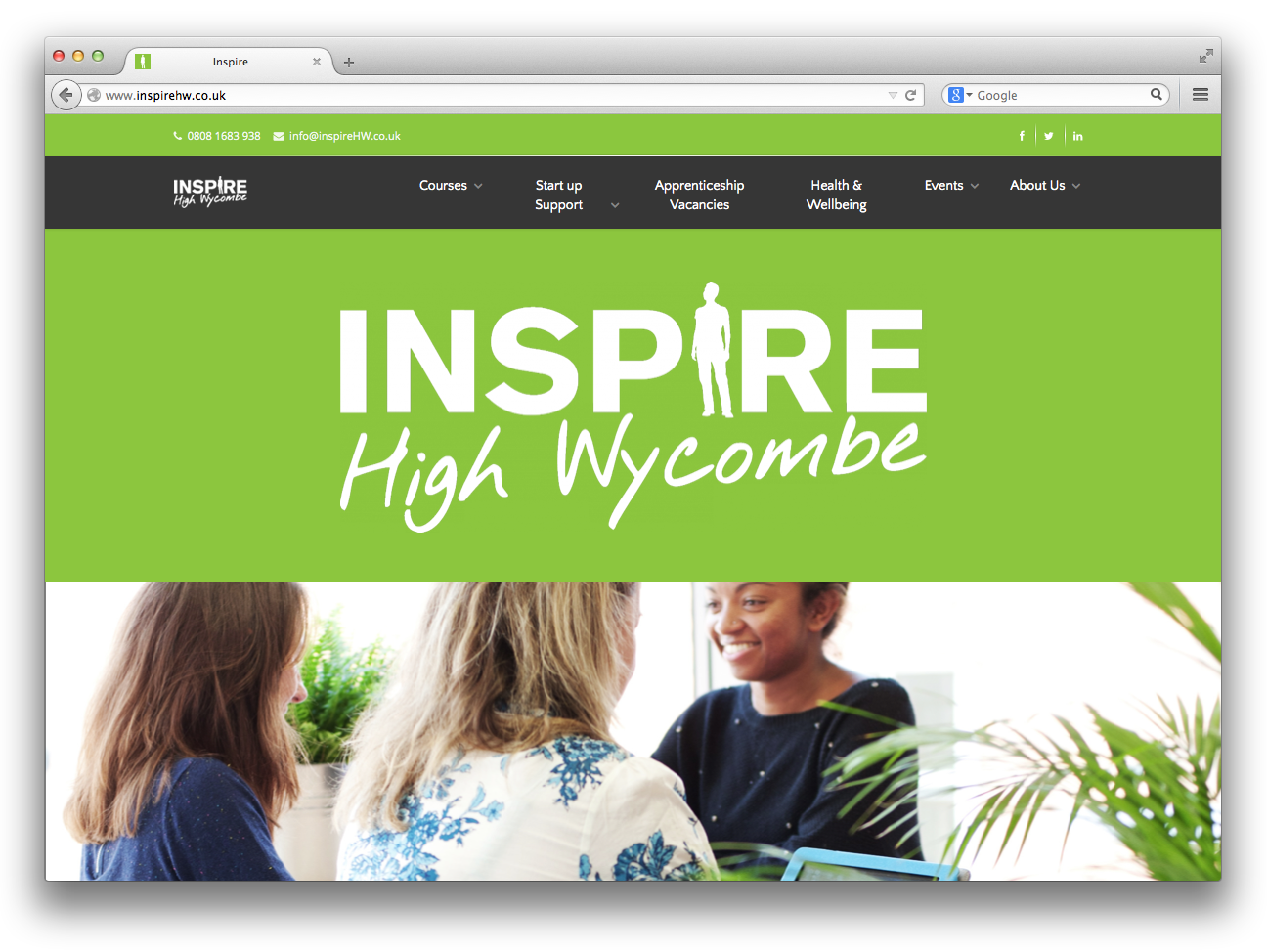 Inspire High Wycombe: supporting employment, social enterprise and business