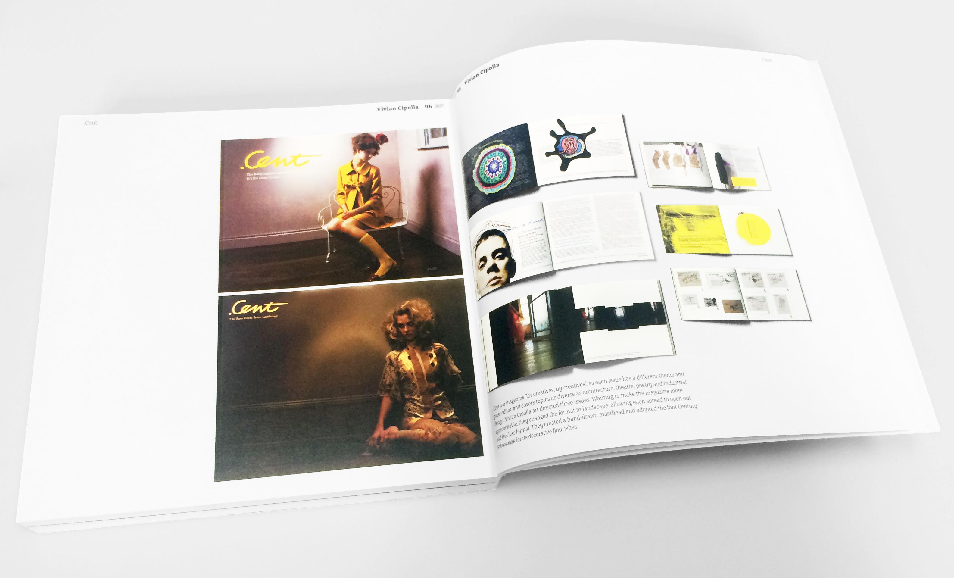Cent Magazine in Onehundredat360°: Graphic Design's New Global Generation