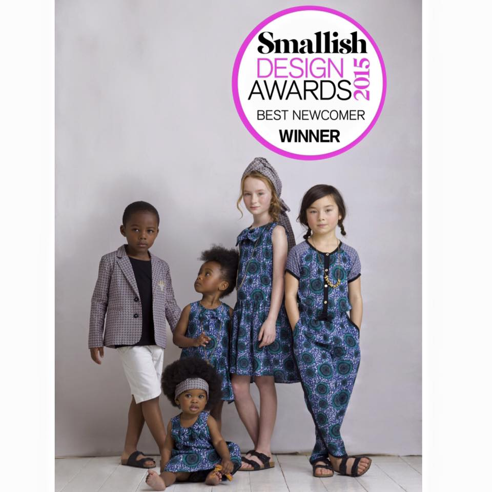 Petit Tribe wins Best Newcomer at Smallish Design Awards 2015