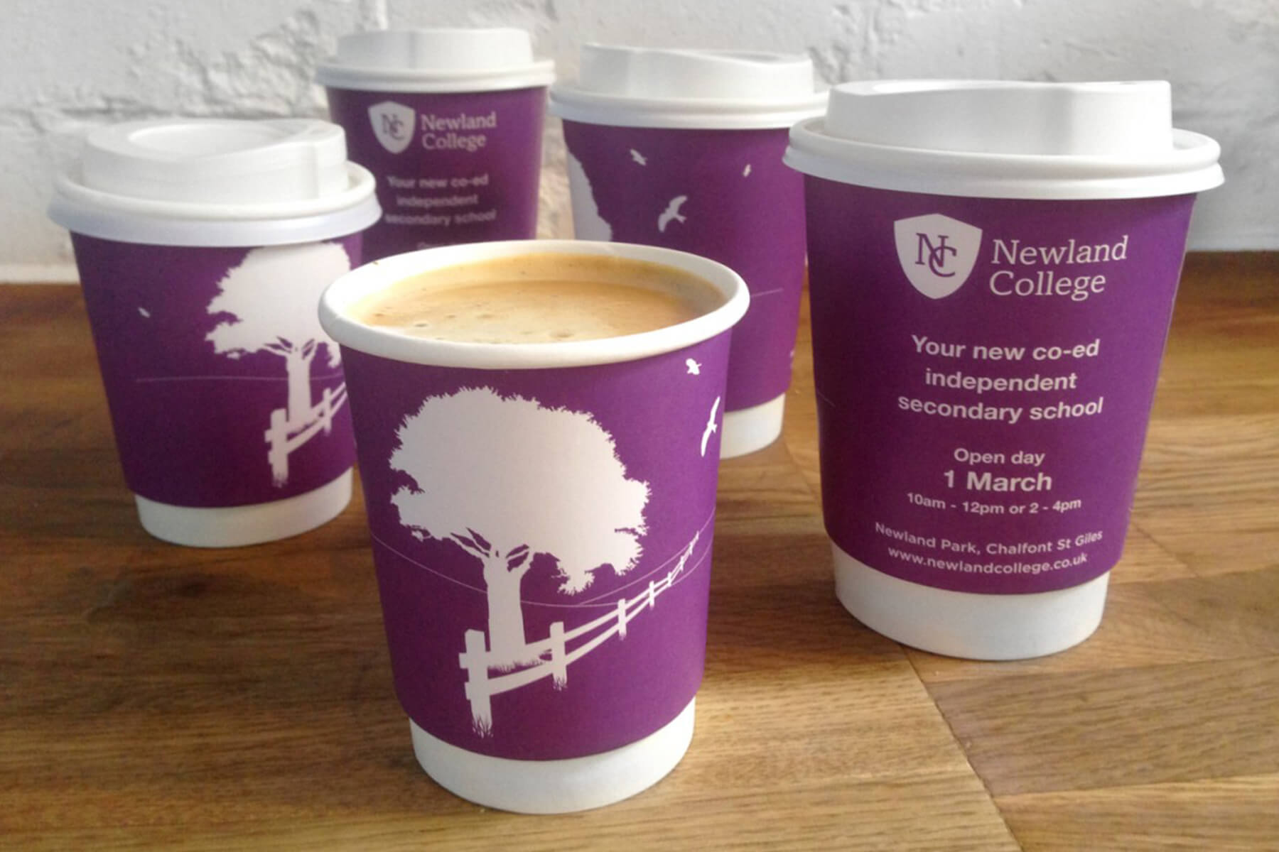 Education branding - new college brand launch