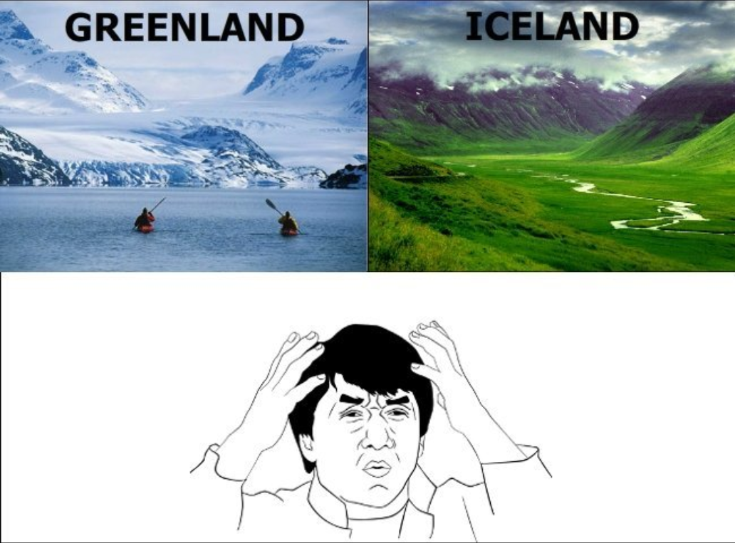 Iceland vs Iceland – Time for a Rebrand