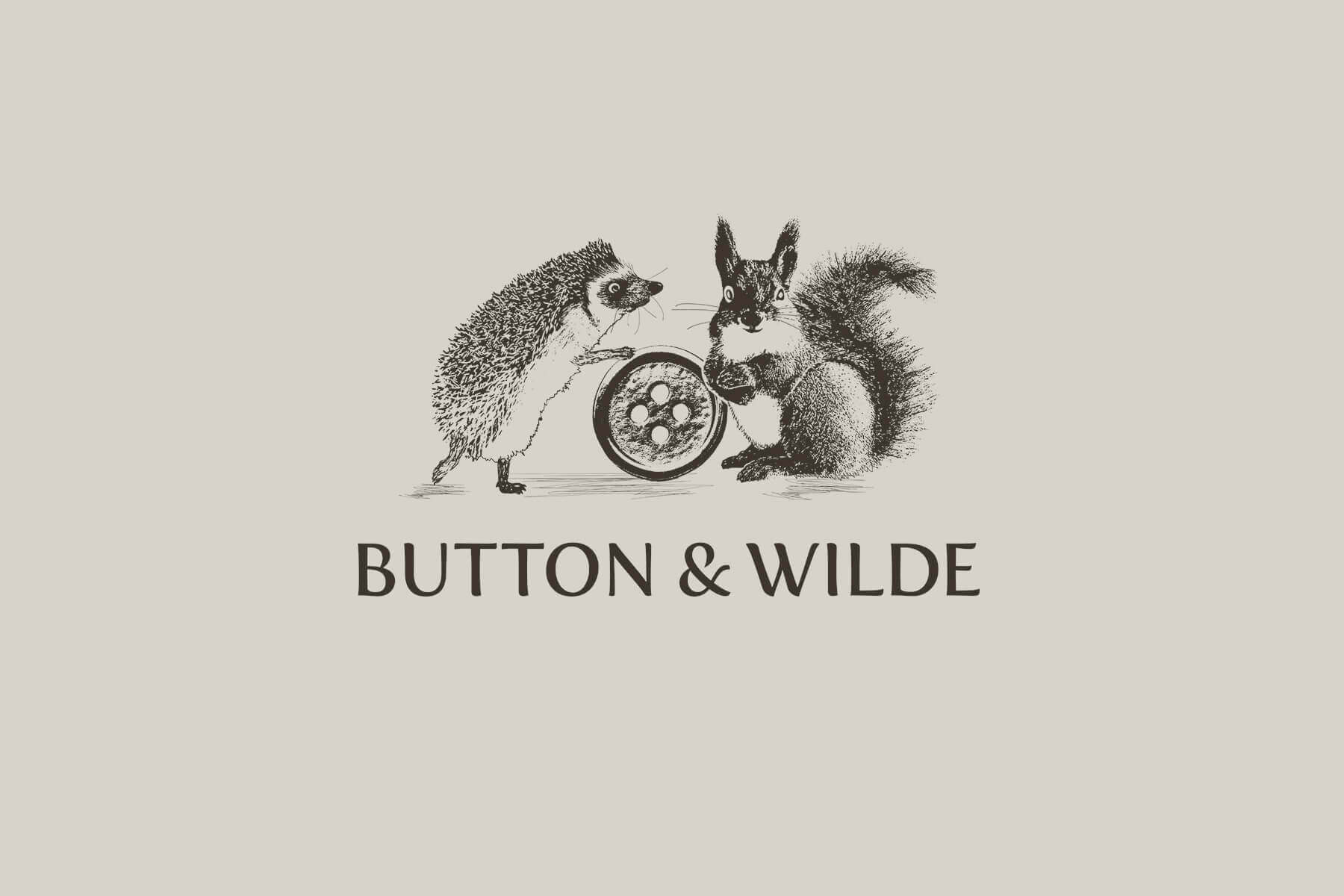 Naming agency for Button and Wilde new brand development bath and skincare